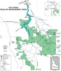 Idaho Falls Map Tex Creek Wildlife Management Area Maplets