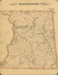 Pennsylvania Township Map by Haverford Township In Atlases And Maps