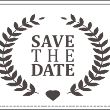 Save The Date Save The Date Stamp 4 U2013 I Do Inspirations Wedding Venues
