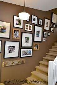 how to arrange a picture display use craft paper to trace and