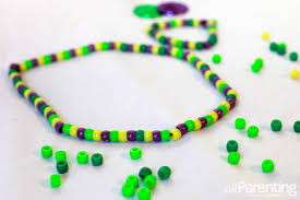 mardi gras beaded necklaces 4 mardi gras crafts for kids
