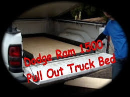 your own dodge truck dodge ram 1500 pull out truck bed d i y