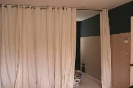 Floor To Ceiling Tension Rod Room Divider Marvelous Curtain Room Dividers Diy 78 In Free Wedding Invitation