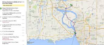 map usa parkway us map with directions niagara falls international airport to