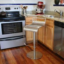 amerihome adjustable height stainless steel bar stool bsss1 the