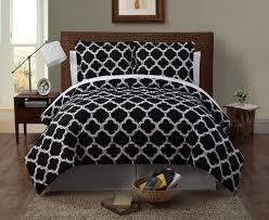 bedding black fluffy comforter black white bedding twin size bed