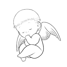 baby angel wings clipart clipart kid in loving memory