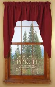 Country Porch Curtains Window Curtain Swags