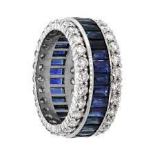 sapphire wedding ring sapphire and wedding band estate jewelry