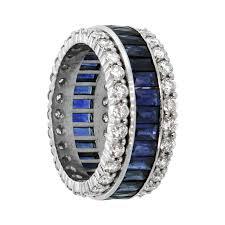 sapphire wedding ring sapphire and wedding band estate jewelry
