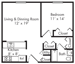 exciting 1 bedroom apartment floor plans pictures inspiration