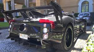 pagani exhaust pagani zonda 760 lm roadster v12 exhaust sounds youtube