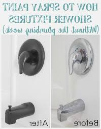 Paint Bathroom Fixtures by How To Spray Paint Shower Fixtures Addlocalnews Com