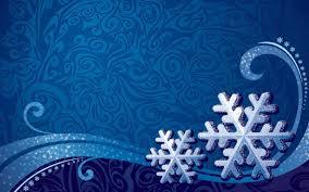 snowflake patterns vector art blue background wallpaper