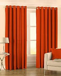 Burnt Orange Curtains Modern Faux Silk Burnt Orange Curtains 90x90