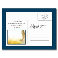 trendy thanks wedding thank you card post card superdazzle