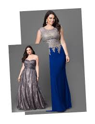 plus size prom dresses gowns in plus sizes promgirl