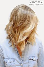 mid length hair cuts longer in front 25 medium length hairstyles you ll want to copy now blonde lob