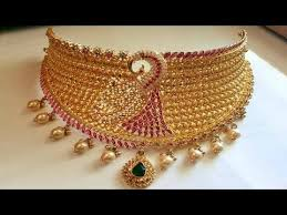 choker gold necklace images 120 grams grand gold choker choker necklace designs jpg