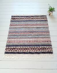 Pastel Rag Rug Swedish Rag Rugs From The Northern House I Love The Larger Design