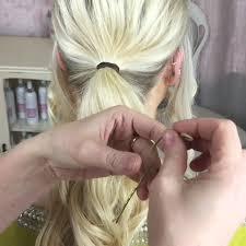 chignon maker the big beautiful curly bun tutorial using the sweethearts