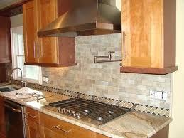 stone backsplash kitchen natural stone kitchen backsplash natural stone tile home design