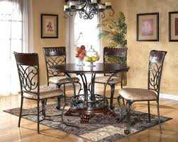 wood and wrought iron table iron table and chair set lesdonheures com