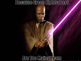 Lightsaber Meme - mace windu s purple lightsaber star wars amino