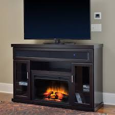 Electric Fireplace Entertainment Center Tenor Electric Fireplace Entertainment Center In Espresso