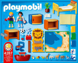 playmobil chambre des parents playmobil 4287 jeu de construction chambre des enfants amazon