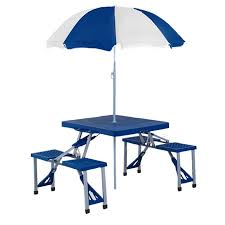 Plastic Folding Picnic Table Picnic Table With Umbrella Best Tables