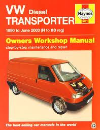 vw transporter diesel t4 service and repair manual 1990 2003