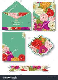 envelope border pattern collection floral seamless pattern frame border stock vector