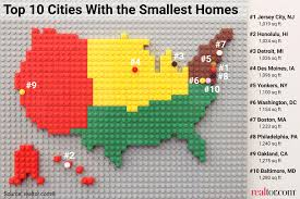 top 10 cities with the smallest u2014and largest u2014homes realtor com
