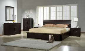 Zen Bedroom By JM Contemporary Platform Bed - Contemporary platform bedroom sets
