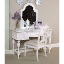 Makeup Vanity Mirror Bedroom Impressive Appealing Black Brown Table And Charming