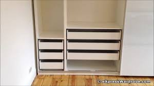 ikea pax tonnes sliding door wardrobe design youtube