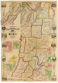 County Map New York by Old Maps Of Washington County New York 1858