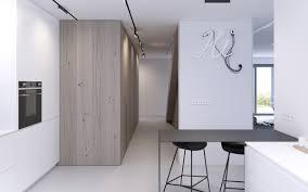easy minimalist scandinavian kitchen design with nice simple wood