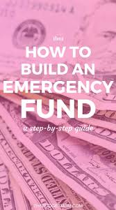 how to build an emergency fund step by step guide the budget mom