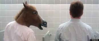 fake horse head funny horse mask gif best horse 2017