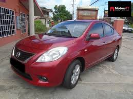 grey nissan versa nissan versa automatic petrol red for sale in trinidad and