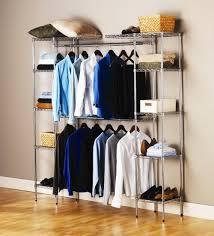 free standing closet rack home design ideas