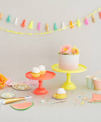 small cake stand neon cake stand small