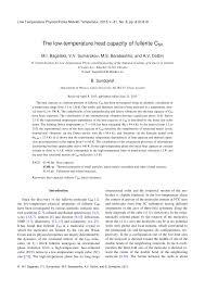 the low temperature heat capacity of fullerite c60