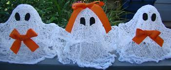 ghosts in bowties halloween craft ideas fun for all ages