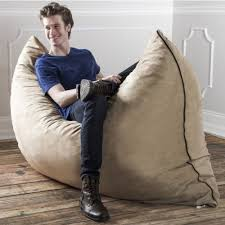 oversized bean bag chair large floor pillow napping lounger cozy