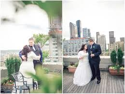 Wedding Photographers Seattle Intimate Penthouse Suite Sorrento Hotel Wedding Seattle Wedding