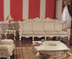 Leisure Fabric Sofaluxury Classic Home Furniture Hand Carved - Classic home furniture