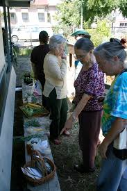 mosswood neighbors swap their backyard surplus at weekly produce